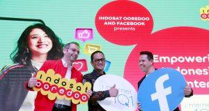 Indosat Ooredoo dan Facebook Luncurkan Kampanye 'Internet 1O1'