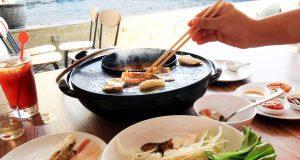 MENU ASIA: Menu BBQ dan Sukiyaki ala Asia sajian khusus kulinari Harris Hotel Sentraland untuk pelanggan dan tamu berkunjung